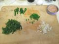 [炒飯]ツナ缶と菜の花の炒飯