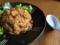 牛コマ肉のキムチ炒飯