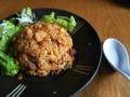 [炒飯]牛コマ肉のキムチ炒飯