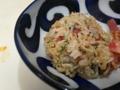 [炒飯]梅干とシラスの炒飯