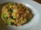 ベーコンとブロッコリーの炒飯