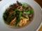 ホタルイカと菜の花のパスタ