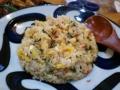 [炒飯]梅干しと大葉の炒飯