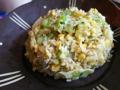 [炒飯]シラスとレタスの炒飯
