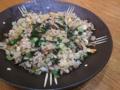 [炒飯]舞茸とターツァイの炒飯