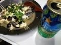 [ビール]シジミ豆腐