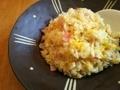 [炒飯]ロピアのロースハム