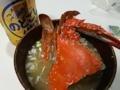 [ビール]ワタリガニの味噌汁