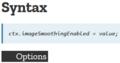 ctx.imageSmoothingEnabled = false