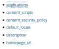 manifest.json - Mozilla | MDN