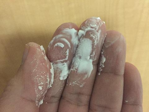 ライフ すっきり Ca 低脂肪 カルシウムの粉が残る