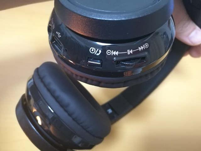 MPOW Thor Bluetooth ヘッドフォン ボタン類2