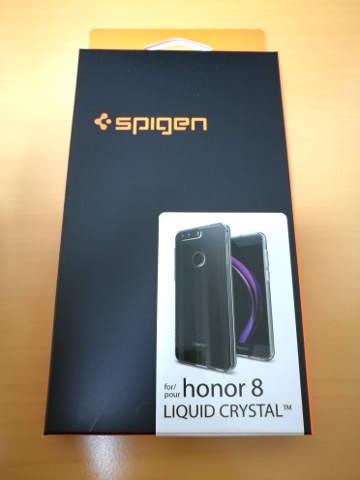 Spigen リキッド・クリスタル Huawei Honor8用ケース 1