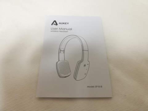 Aukey bluetooth ヘッドホン EP-B18 7