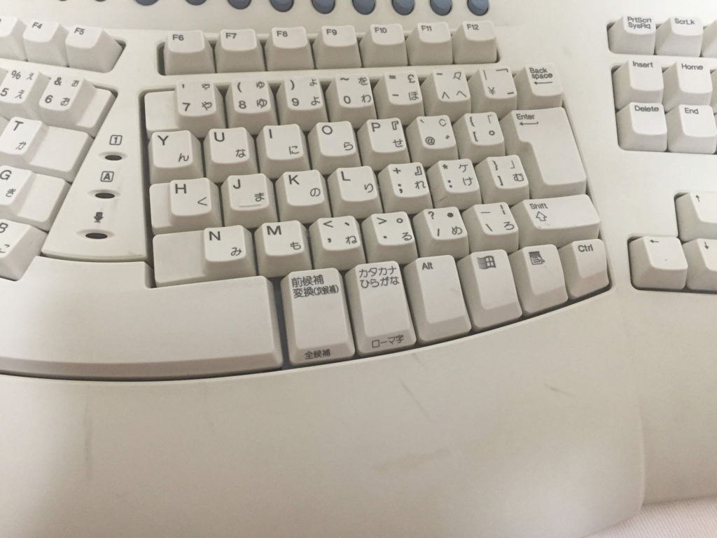 Microsoft Natural Keyboard Pro right