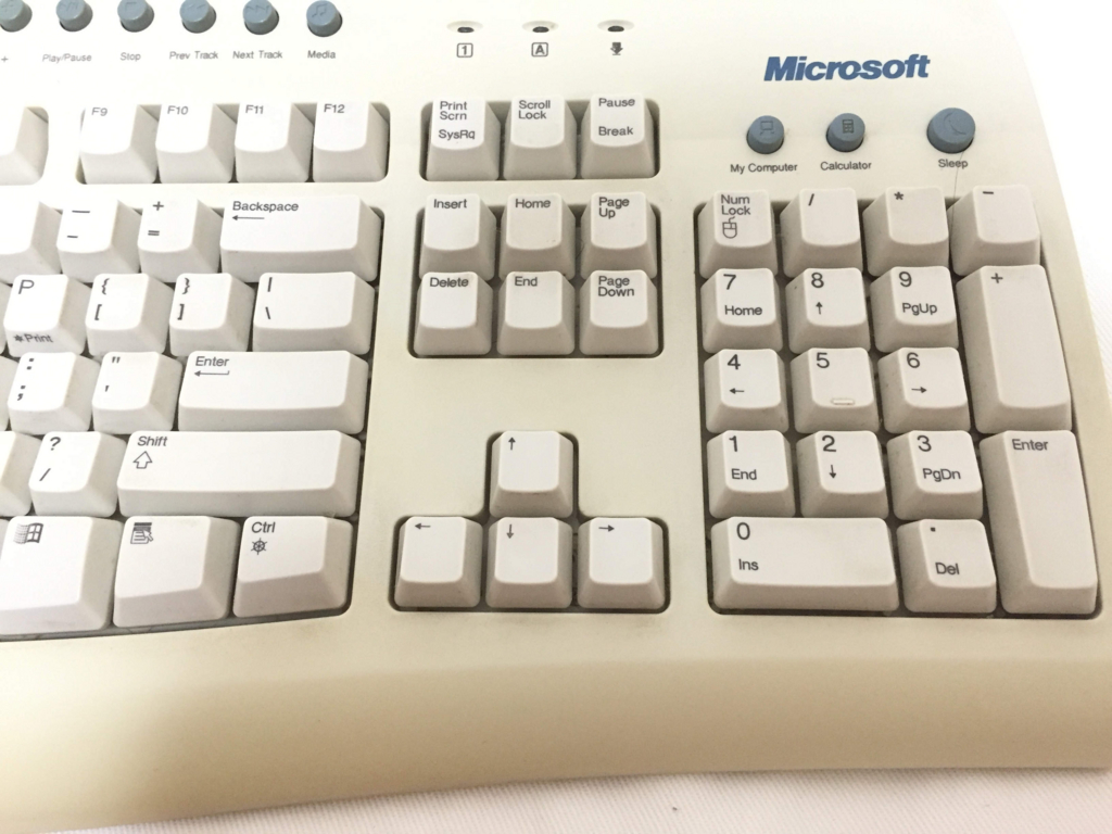 Microsoft Internet Keyboard Pro left