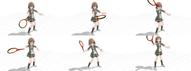 意識・無意識問わずラケット面が安定してボールに向いていなかいスイング