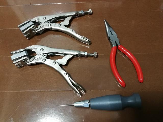 KLIPPERMATE 付属工具類