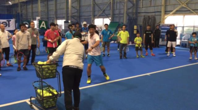 雑誌社主催テニスイベント