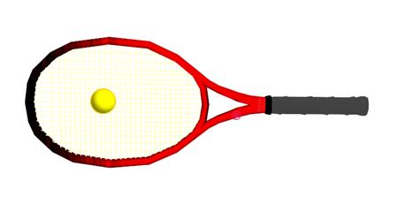 テニス ラケットとボールの重量差と運動エネルギー量