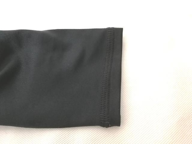 アンダーアーマー コンプレッションシャツ4 袖周り