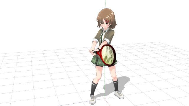 テニス バックハンドストローク 2