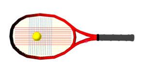 テニス ガット 横糸がボールにひっかかる