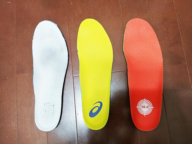 tennis shoes insole comparison
