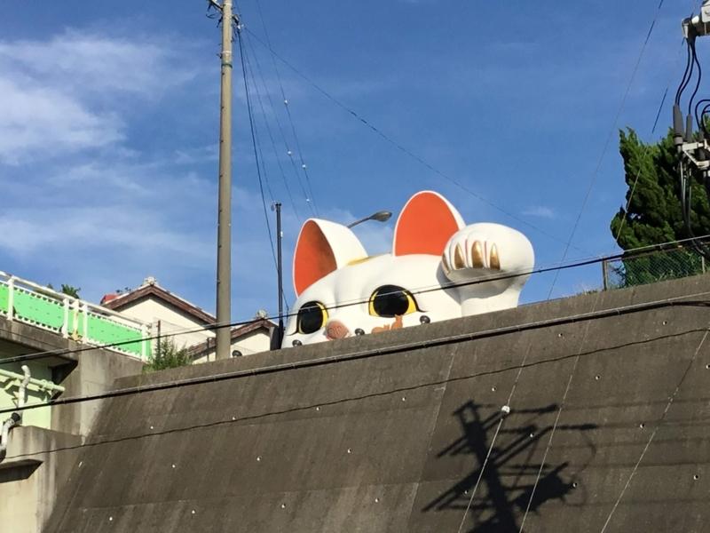 常滑市の巨大招き猫「とこにゃん」