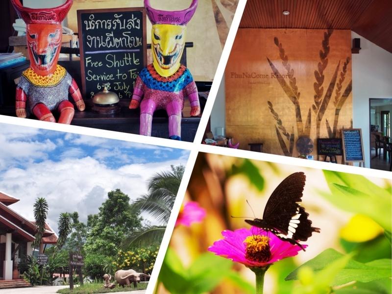 ルーイ県ダーンサーイにあるホテル、プーナーカムリゾート