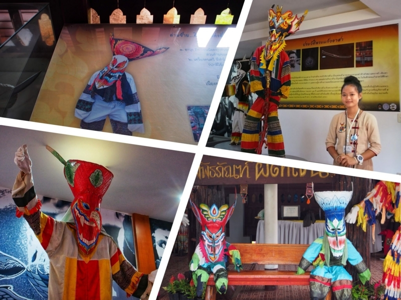 ダーンサーイのポーンチャイ寺にある資料が豊富なピーターコーン博物館