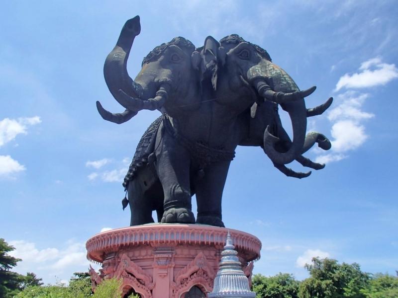バンコク近郊にあるエラワン博物館