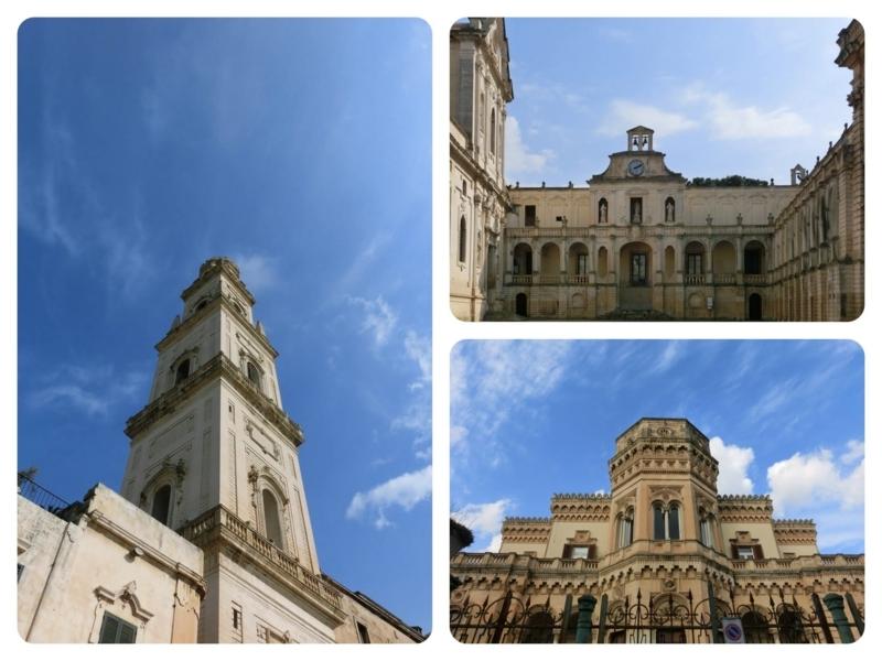 美しい建物が多いレッチェの街並み