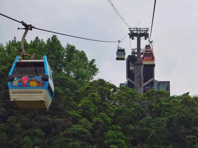 台北の猫空ロープウェイ