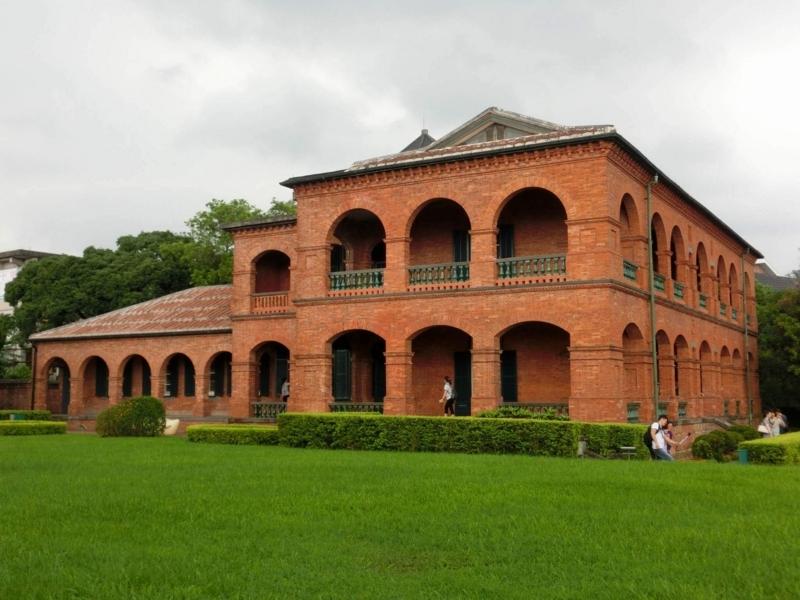 台湾の淡水にある紅毛城