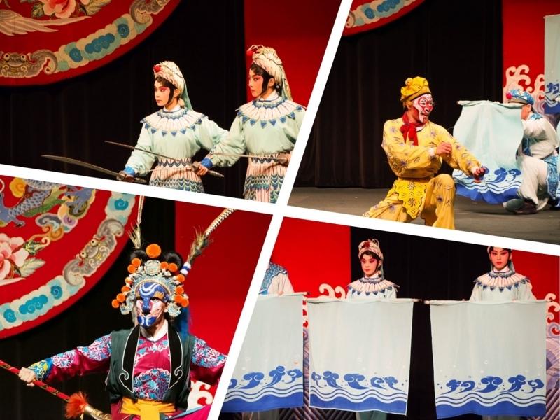 タイペイアイ(Taipei Eye)の京劇が上演されている様子