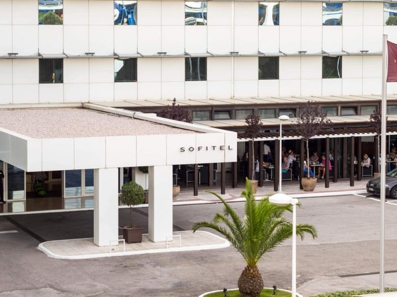 アテネ国際空港の隣にあるソフィテルアテネエアポート