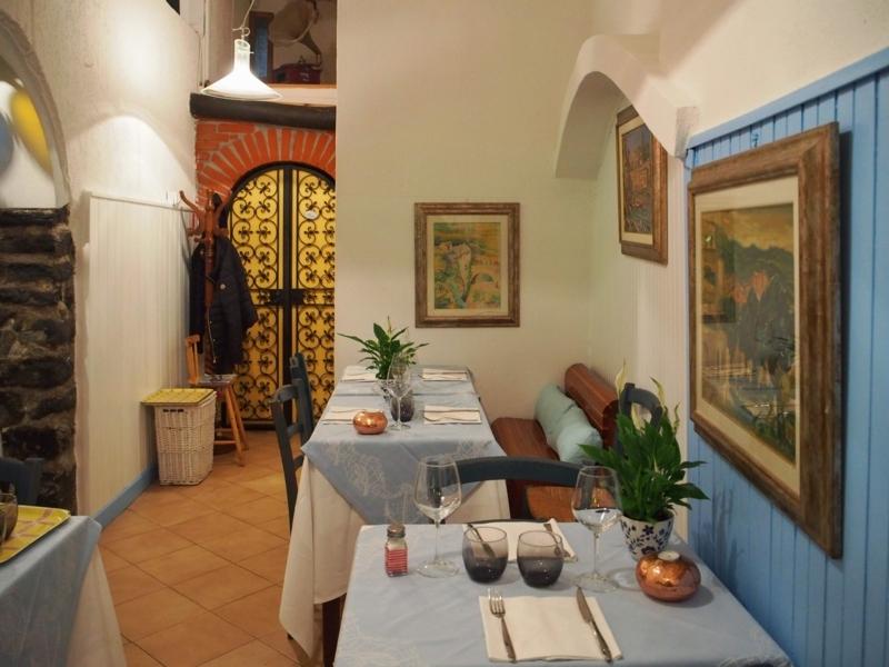 チンクエ・テッレのヴェルナッツァにあるレストラン
