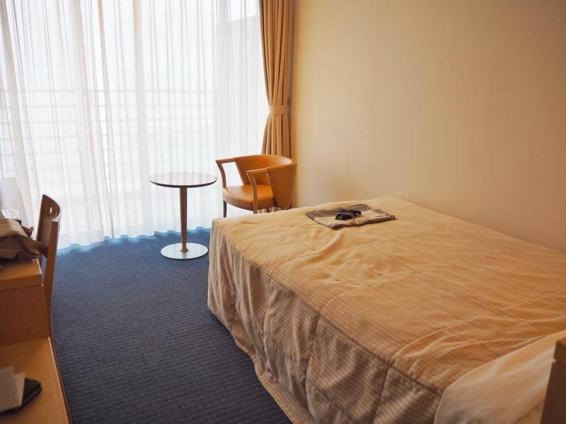 鹿児島市にあるホテル、マリンパレスかごしまの室内
