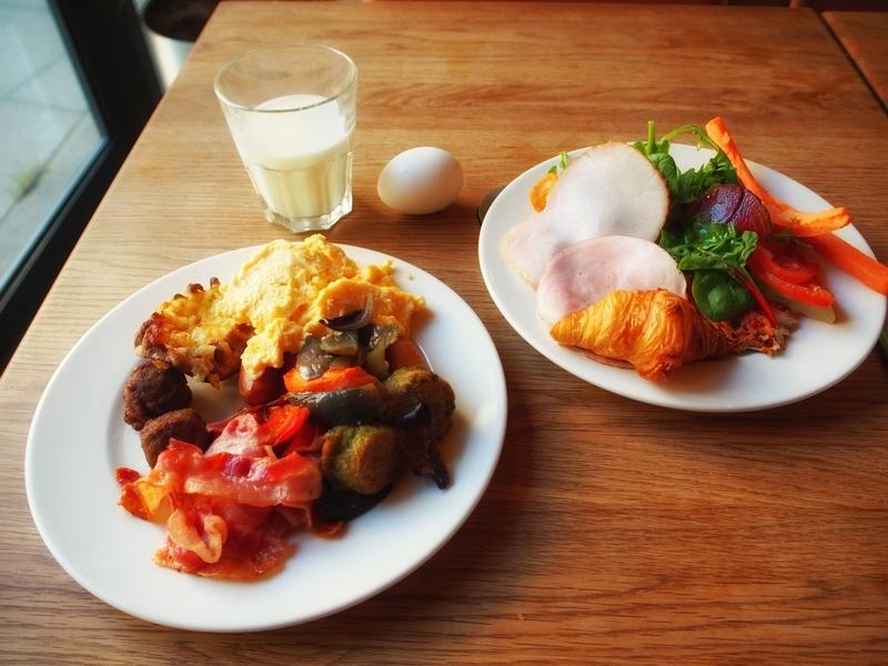 スカンディックシモンケンタでの味も量も満足できる朝食