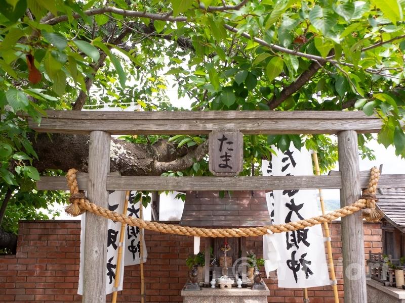 和歌山電鐵の喜志駅にあるたま神社