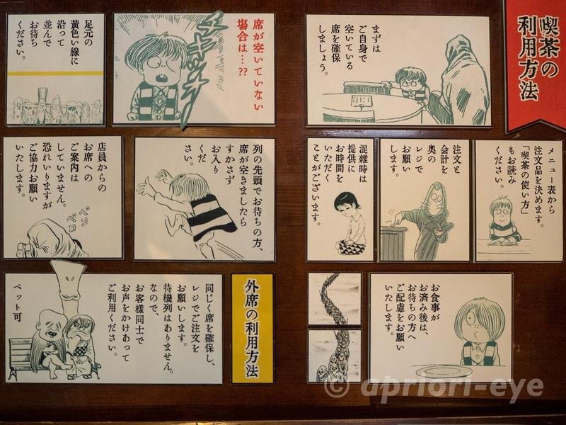 東京都調布市にある鬼太郎茶屋の妖怪喫茶の利用方法