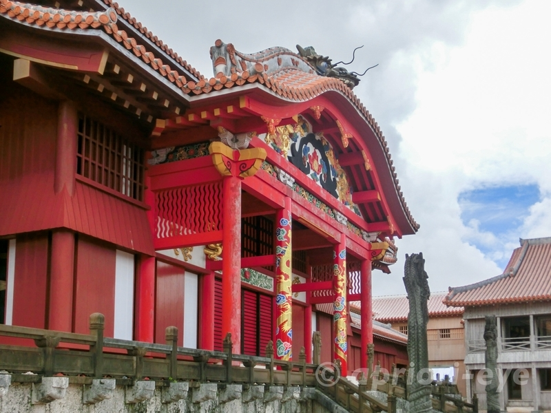 沖縄県那覇市にある世界遺産の首里城