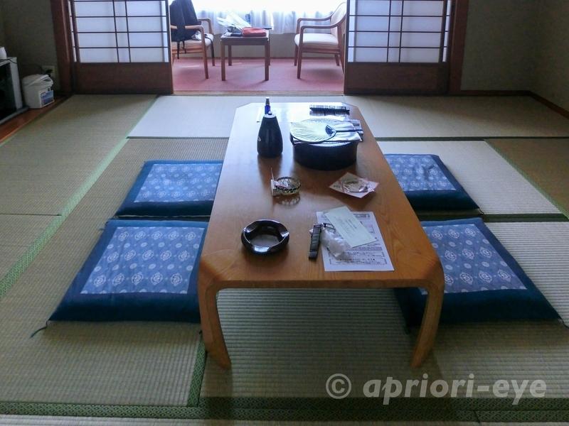 大久野島にある休暇村大久野島の和室の客室