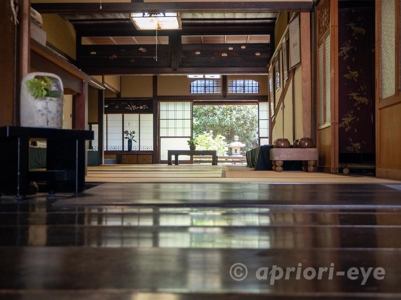 竹原市の町並み保存地区にある旧笠井邸