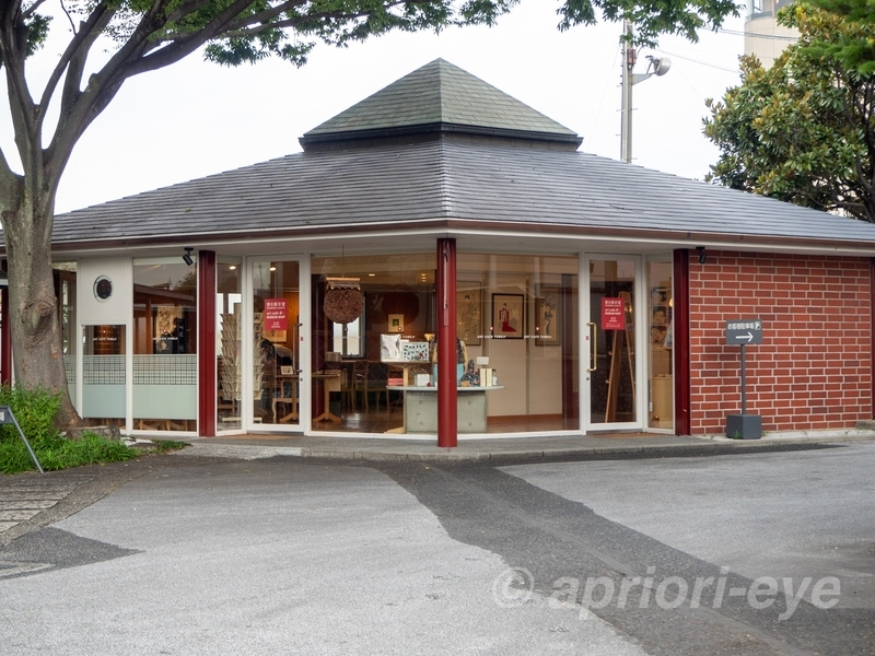 夢二郷土美術館にあるカフェとミュージアムショップ「Art cafe 夢二」の建物
