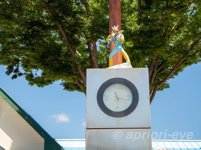 石巻駅前にあるシージェッター海斗のからくり時計