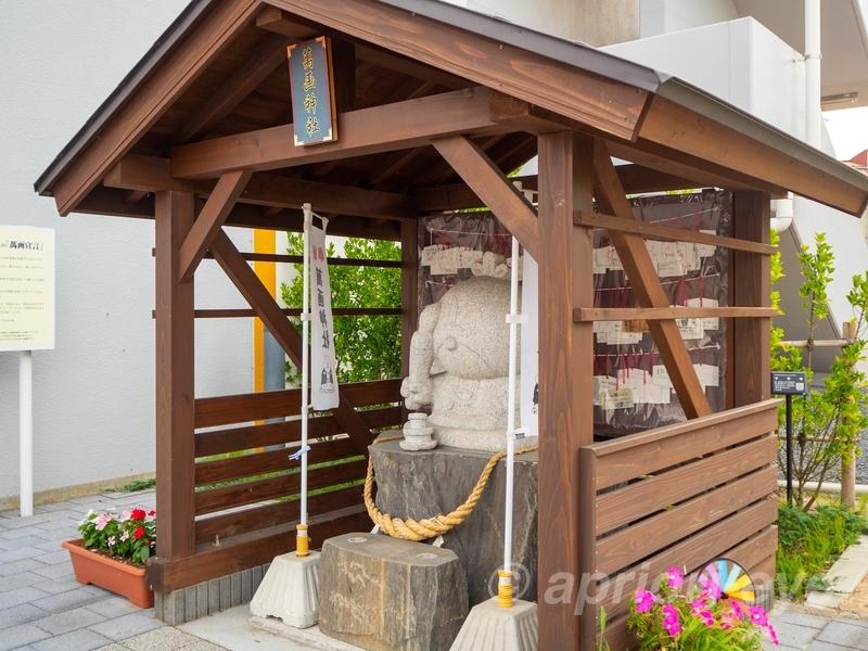 石巻のマンガロードにある萬画神社