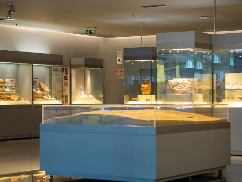 アテネ国際空港の博物館