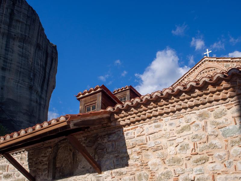 カランバカにある11世紀のビザンティン教会